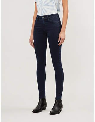 Diesel Slandy skinny mid-rise stretch-denim jeans