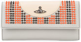 Vivienne Westwood 'Sloane' embellished wallet - women - Leather - One Size