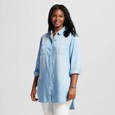 Ava & Viv Women's Plus Size TENCEL® Button Down Tunic