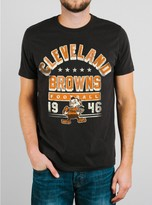 Junk Food Clothing Nfl Cleveland Browns Tee-black Wash-s