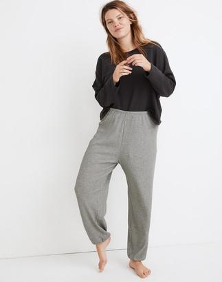 Madewell Waffle Knit Pajama Sweatpants