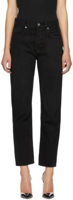 Frame Black Le Hollywood Crop Jeans