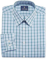 STAFFORD Stafford Stafford Travel Performance Super Shirt Long Sleeve Woven Plaid Dress Shirt