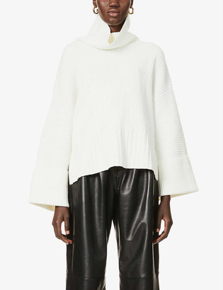 Camilla And Marc Theodore turtleneck knitted jumper