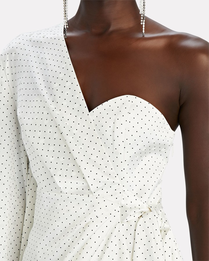 Thumbnail for your product : Significant Other Cosmos Polka Dot One-Shoulder Dress