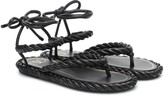 Valentino Garavani The Rope leather sandals