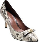 Cole Haan Juliana Snake-Embossed Pumps