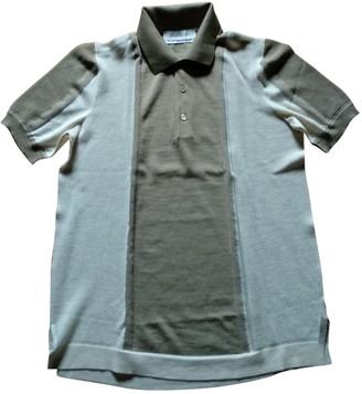 Saint Laurent Beige Cotton Polo shirts