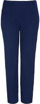 Diane von Furstenberg Gennifer Two Cotton Slub Cropped Trousers