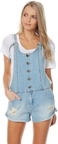 Billabong Over It Overall Blue