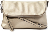 Kathy Ireland Gray Envelope Crossbody Bag