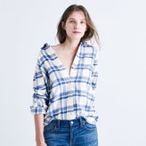 Madewell Flannel Classic Ex-Boyfriend Shirt in Akiva Plaid