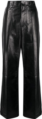 Marni High-Waisted Wide-Leg Trousers