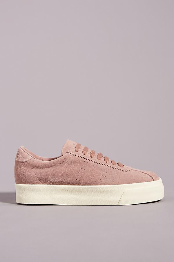 Superga Suede Platform Sneakers By in
