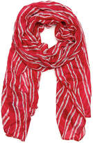 Keds Women's Long Stripe Print Scarf