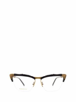 Gucci Cat Eye Frame Glasses