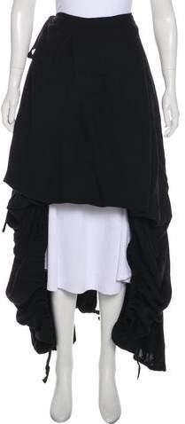Ann Demeulemeester Wool Wrap Skirt w/ Tags