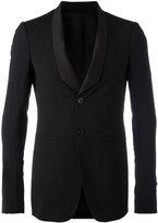 Rick Owens shawl collar blazer - men - Silk/Cotton/Spandex/Elastane/Virgin Wool - 50