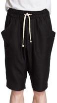 Drifter Men's 'Tristan' Drawstring Silk & Wool Shorts