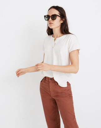 Madewell Hemp-Cotton Brother Henley Tee