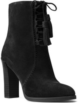 Michael Kors Odile Lace Up Block Heel Booties