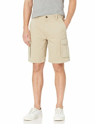 Amazon Essentials Classic-Fit Cargo Short Khaki 32