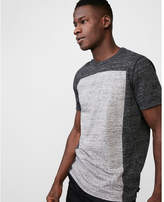 Express pieced crew neck tee