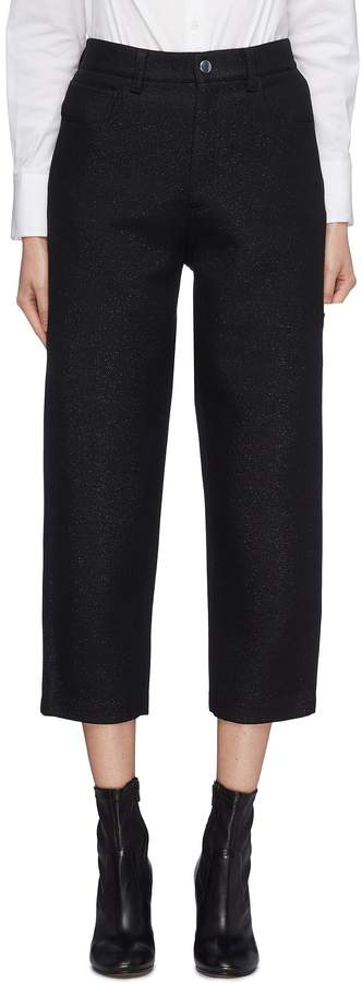 Barena 'Amalia Lux' cropped suiting pants