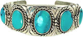 One Kings Lane Vintage Navajo-Style Sky Blue Turquoise Cuff