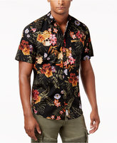 Reason Men's Floral Button-Front Shirt