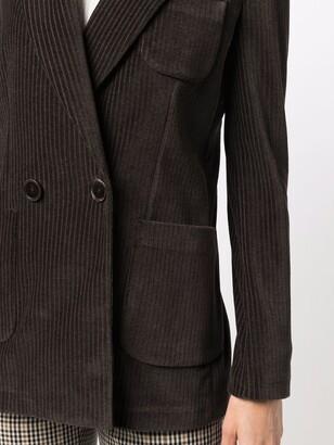 Circolo 1901 Corduroy Double-Breasted Blazer