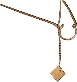 ginette_ny Pink Pink gold Necklaces