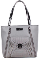 Nicole Lee Women's Sanne Flip-Lock Shopper Bag