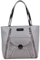 Nicole Lee Women's Sanne Rockstud Flip-Lock Shopper Bag