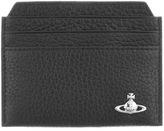 Vivienne Westwood Leather Card Holder Black