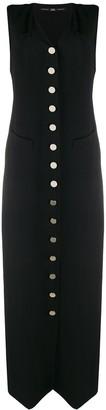 1990's Sleeveless Button Up Dress
