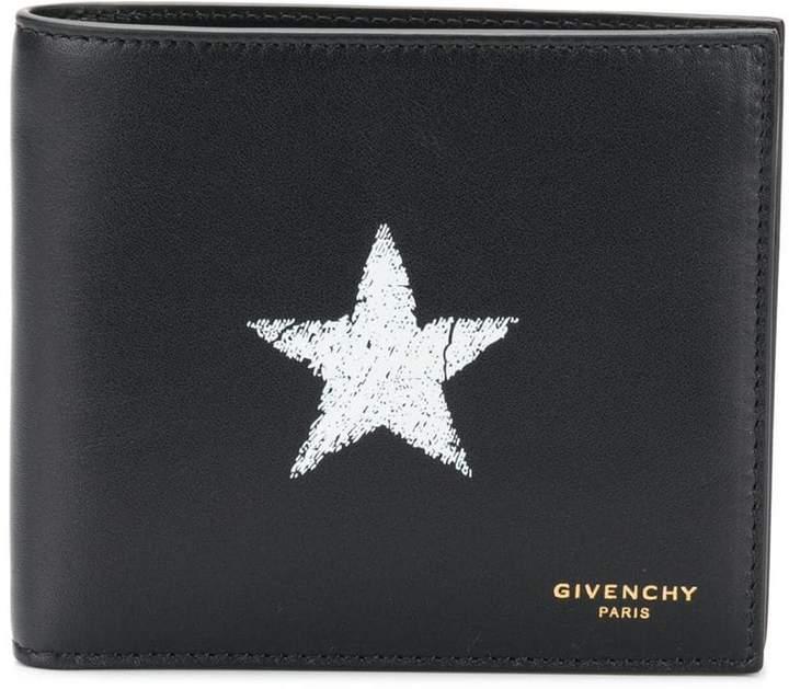 Givenchy Star logo bi-fold wallet