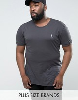 Religion Plus T-shirt With Step Hem