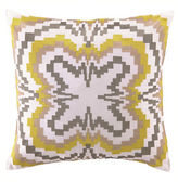 Trina Turk Ikat Squeenuare Decorative Pillow