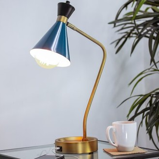 """Wrought Studio Mira Metal 21"""" Desk Lamp"""