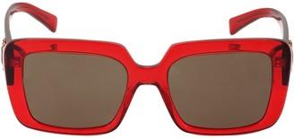 Versace Medusa Logo Oversize Acetate Sunglasses