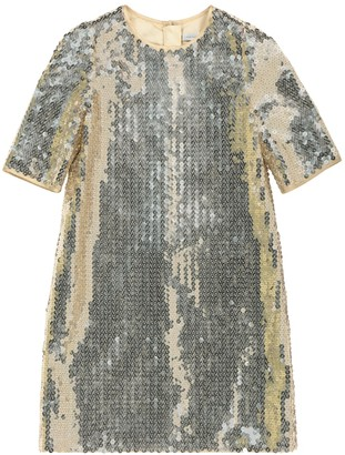Dolce & Gabbana Kids Sequined dress