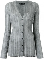 Proenza Schouler metallic button-down cardigan