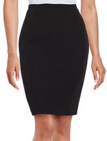 Tommy Hilfiger Back Vent Accented Pencil Skirt
