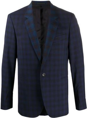 Paul Smith Checked Tailored Blazer