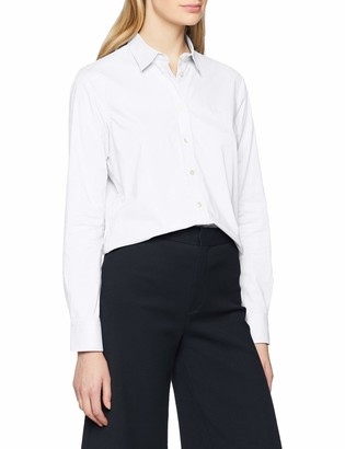 Gant Women's Solid Stretch Broadcloth Normal Shirt