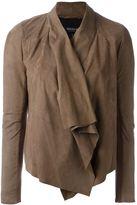 Muu Baa Muubaa drape-front jacket