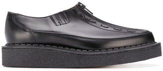 Comme des Garcons Zipped Chunky Sole Loafers