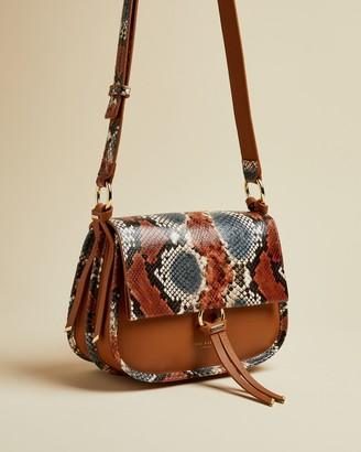 Ted Baker HETTIE Exotic leather cross body bag