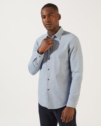 Jigsaw Anthony Indigo Shirt